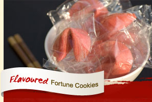 Flavoured Fortune Cookies.